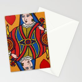 Queen of Pop Stationery Cards