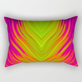 stripes wave pattern 3 w81 Rectangular Pillow