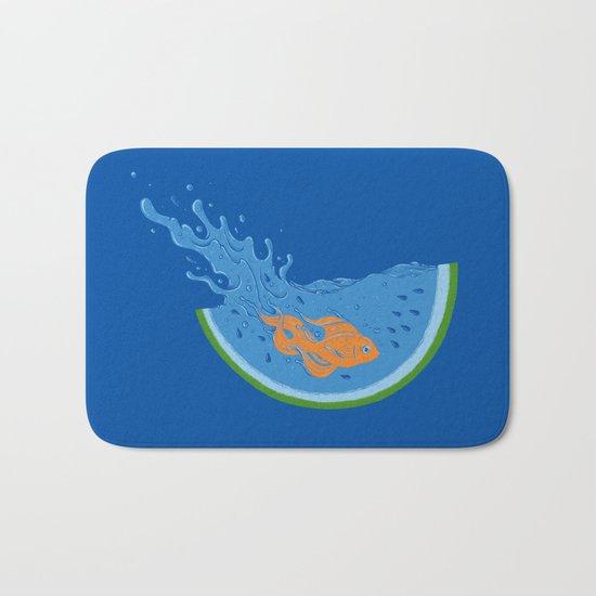 Watermelon Dive Bath Mat
