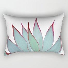 Elegant Agave Fringe Illustration Rectangular Pillow