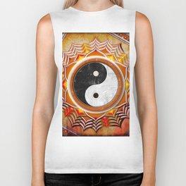 Yin Yang - Healing Of The Orange Chakra Biker Tank