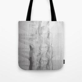 Bunny Girl Glitch Tote Bag