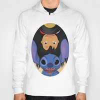 lilo and stitch Hoodies featuring Lilo & Stitch by Ashleigh Jane