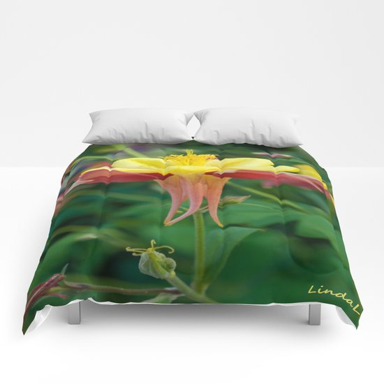 Floating Flower Comforters
