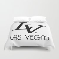 lv Duvet Covers featuring LV by Joe Alexander