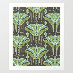 La maison des papillons Art Print