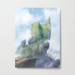 Mur Metal Print