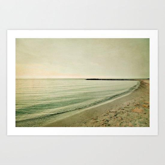 Sea of dreams Art Print