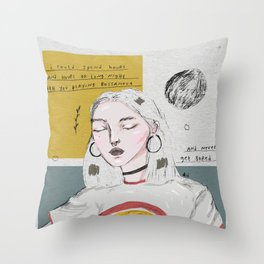 Twin Flames Throw Pillow