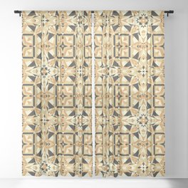 Cookie Or Hardwood? Try And Find Out! Seamless Pattern Sheer Curtain