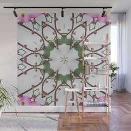delicate vines connection Wall Mural