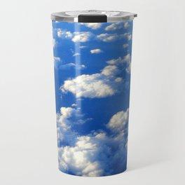 Blue Blue Sky by Lika Ramati Travel Mug