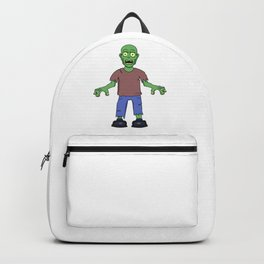 Scared Zombie Backpack