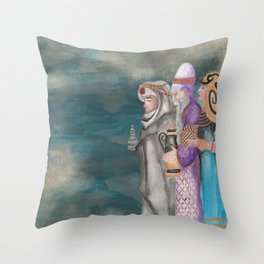Michael's First Christmas, Three Wise Men Throw Pillow