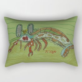 Mantis Shrimp Rectangular Pillow