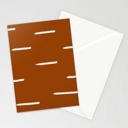 MOD_ChunkyHorizontalLines_Camel Stationery Cards