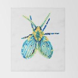Drain Fly Throw Blanket
