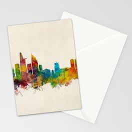 Ho Chi Minh City Saigon Vietnam Skyline Stationery Cards