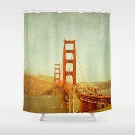 Golden Gate Bridge / San Francisco, California Shower Curtain