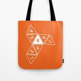 Unrolled D8 Tote Bag