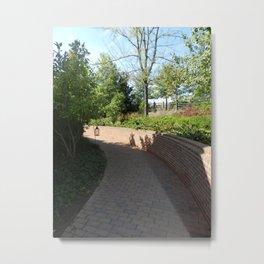 Pathway at Mount Vernon Metal Print