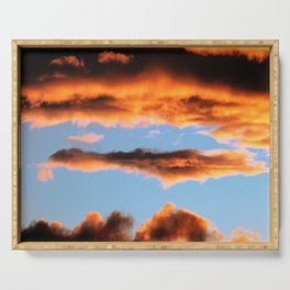 Sunset #201 Serving Tray