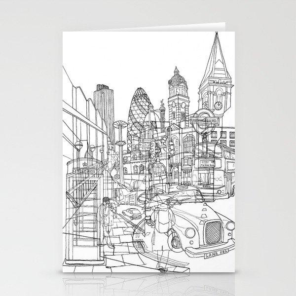 London! Stationery Cards