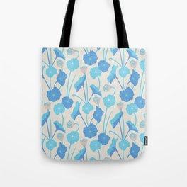 LOTUS POND Pattern Tote Bag