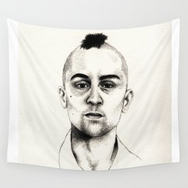 Taxi Driver Wall Tapestry