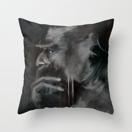 Thinker Throw Pillow