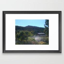 Driving by Framed Art Print