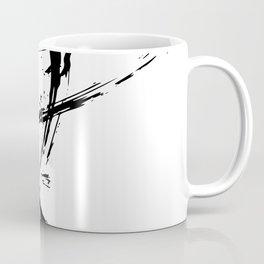 Brushstrokes No.16A by Kathy Morton Stanion Coffee Mug