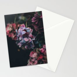 FLOWERS - FLORAL - PINK - RED - PHOTOGRAPHY Stationery Cards