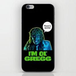Old Gregg iPhone Skin