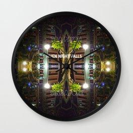 NIGHTFALL@HDB Wall Clock