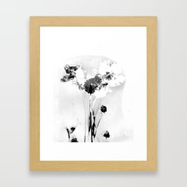 Floral Traces Framed Art Print