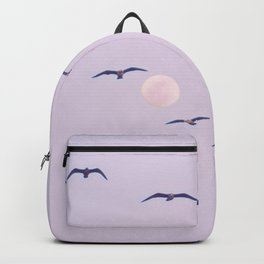 Seagulls & Moon by Murray Bolesta Backpack