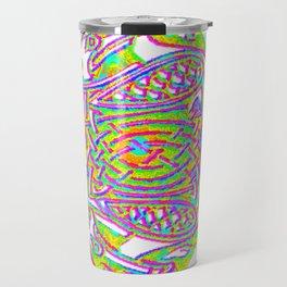 celtic knotted diamond Travel Mug