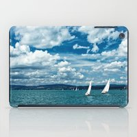 boats iPad Cases featuring Boats by Aleksandra Madejska