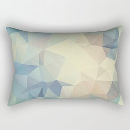 Abstract polygonal 2 Rectangular Pillow