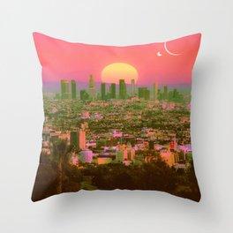 Sunset Crush Throw Pillow