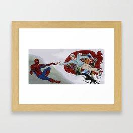 Stan The Creator  Framed Art Print