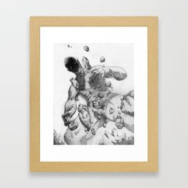 The Almighty Framed Art Print