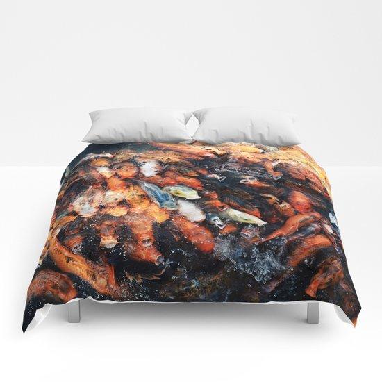 Chinese Koi Comforters