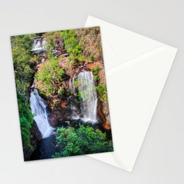Florence Falls - view from above-NT, Australia Stationery Cards