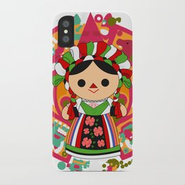 Maria 5 (Mexican Doll) iPhone Case