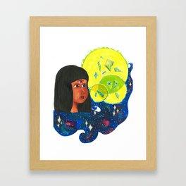 Crystal Gem Framed Art Print
