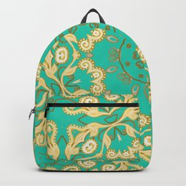 Cassy in Emerald Teal Backpack