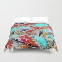 the xx Duvet Covers featuring Abstract XX by Mr & Mrs Quirynen