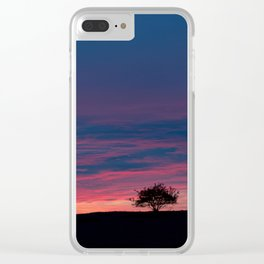 Early morning tranquility Clear iPhone Case